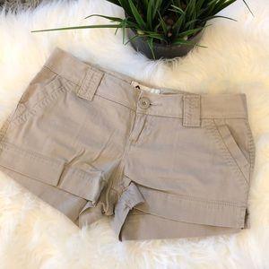 NWOT SO Tan Short 4 Pocket Shorts